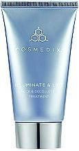 Fragrances, Perfumes, Cosmetics Neck & Decollete Cream - Cosmedix Illuminate Lift Neck Decollete Treatment