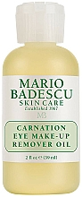 Fragrances, Perfumes, Cosmetics Eye Makeup Remover Oil - Mario Badescu Carnation Eye Make-Up Remover Oil