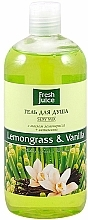 "Shower Gel ""Lemongrass & Vanilla"" - Fresh Juice Sexy Mix Lemongrass & Vanilla — photo N2"