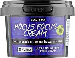 Fragrances, Perfumes, Cosmetics Foot Cream - Beauty Jar Hocus Focus Cream Ultra Nourishing Foot Cream