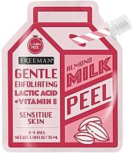 Fragrances, Perfumes, Cosmetics Almond Milk Facial Peeling - Freeman Almond Milk Peel