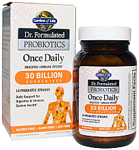Fragrances, Perfumes, Cosmetics Probiotics, capsules - Garden of Life Dr. Formulated Probiotics Once Daily