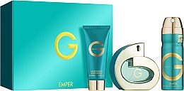 Fragrances, Perfumes, Cosmetics Emper G Pour Femme - Set (edp/100ml + deo/200ml + b/lot/100ml)