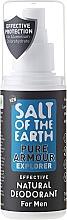 Fragrances, Perfumes, Cosmetics Men Natural Deodorant Spray - Salt of the Earth Pure Armour Explorer Natural Deodorant For Men