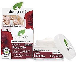 "Fragrances, Perfumes, Cosmetics Anti-Aging Day Cream ""Rose Otto"" - Dr. Organic Bioactive Skincare Rose Otto Day Cream"
