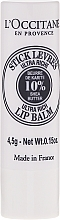 Fragrances, Perfumes, Cosmetics Ultra-Nourishing Lip Balm - L'occitane Ultra Rich Stick Lip Balm