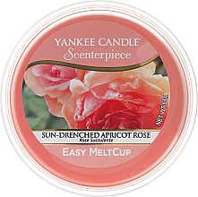 Fragrances, Perfumes, Cosmetics Scented Wax - Yankee Candle Sun-Drenched Apricot Rose Scenterpiece Melt Cup