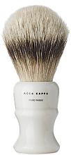 Fragrances, Perfumes, Cosmetics Shaving Brush - Acca Kappa Shaving Brush Pure Silver Badger