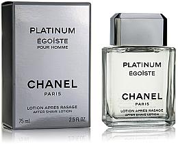 Fragrances, Perfumes, Cosmetics Chanel Egoiste Platinum - After Shave Lotion