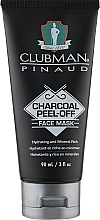 Fragrances, Perfumes, Cosmetics Cleansing Black Face Mask - Clubman Pinaud Charcoal Peel-Off Face Mask