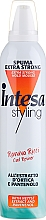 Fragrances, Perfumes, Cosmetics Styling Wavy Hair Mousse - Intesa Styling Extra Strong Hold