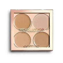 Fragrances, Perfumes, Cosmetics Concealer Palette - Makeup Revolution Base