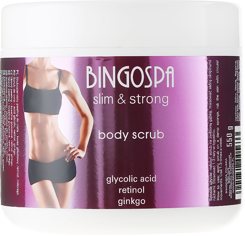 Body Scrub - BingoSpa Slim&Strong Body Scrub