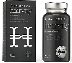 Fragrances, Perfumes, Cosmetics Men Anti Hair Loss Capsules - Halier Men Hairvity Hair Vitamins Anti Hair Loss