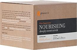 Fragrances, Perfumes, Cosmetics Body Scrub - Phenome Pure Sugarcane Nourishing Deeply Sweet Scrub