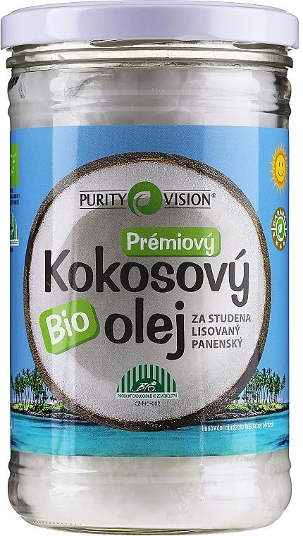 Cold Pressed Coconut Oil - Purity Vision Bio Virgin Cold Pressed Coconut Oil