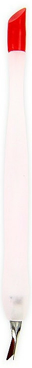Cuticle Trimmer 1043, white with red - Donegal