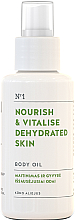Fragrances, Perfumes, Cosmetics Nourishing Body Oil for Dehydrated Skin - You & Oil Nourish & Vitalise Body Oil
