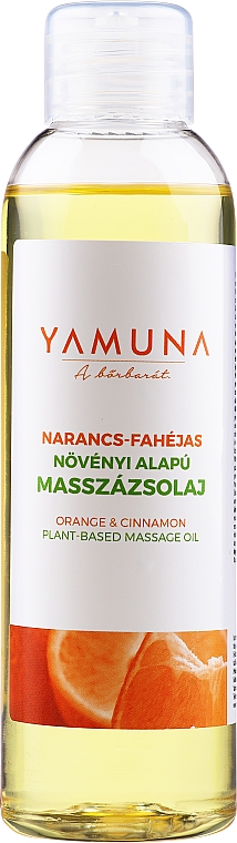 """Massage Oil """"Orange-Cinnamon"""" - Yamuna Orange-Cinnamon Plant Based Massage Oil"""