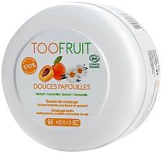 "Fragrances, Perfumes, Cosmetics Massage Balm ""Apricot & Chamomile"" - TOOFRUIT Apricot Chamomile Massage Balm"