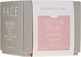 Fragrances, Perfumes, Cosmetics Night Cream Mask with Cranberry Extract - Surgic Touch Peptha Mask