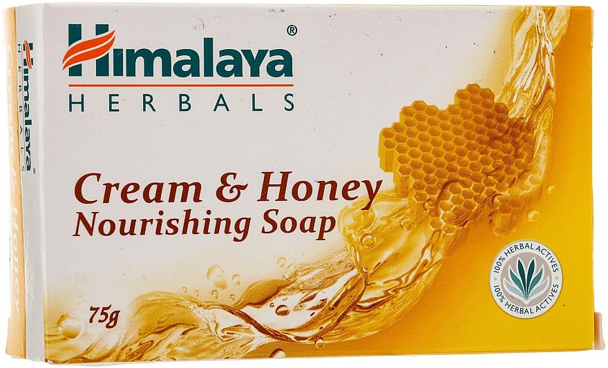 Nourishing Creamy Honey Soap for Normal to Dry Skin - Himalaya Herbals Cream Honey Soap — photo N1