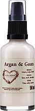Fragrances, Perfumes, Cosmetics Lifting Argan & Goat Milk Face, Neck & Decollete Serum - The Secret Soap Store Argan & Goats Serum