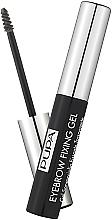 Fragrances, Perfumes, Cosmetics Transparent Eyebrow Fixing Gel - Pupa Transparent Eyebrow Fixing Gel
