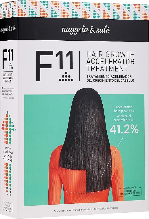 Set - Nuggela & Sule F11 Hair Growth Accelerating Treatment (shm/250ml + ser/70ml)