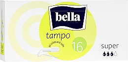 Fragrances, Perfumes, Cosmetics Tampons, 16 pcs - Bella Bella Premium Comfort Super Tampo