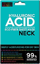 Fragrances, Perfumes, Cosmetics Express Neck Mask - Beauty Face IST Extremely Moisturizing Booster Neck Mask Hyaluronic Acid