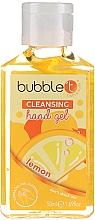 "Fragrances, Perfumes, Cosmetics Antibacterial Hand Gel ""Lemon"" - Bubble T Cleansing Hand Gel"