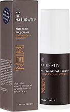 Fragrances, Perfumes, Cosmetics Face Cream - Naturativ Men Face Cream