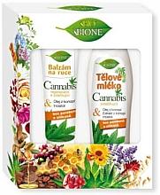 Fragrances, Perfumes, Cosmetics Set - Bione Cosmetics Cannabis (h/balm/200ml + b/lot/500ml)