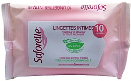 Fragrances, Perfumes, Cosmetics Intimate Wash Wipes - Saforelle Biodegradable Intimate Wipes