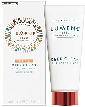 Fragrances, Perfumes, Cosmetics Deep Cleansing Face Mask - Lumene Sisu Expert Deep Clean Purifying Mask