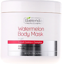 Fragrances, Perfumes, Cosmetics Watermelon Gel Body Mask - Bielenda Professional Watermelon Gel Body Mask