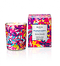 Fragrances, Perfumes, Cosmetics Scented Candle in Glass - Baija Delirium Floral Candle Wax
