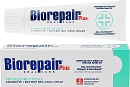 """Fragrances, Perfumes, Cosmetics Toothpaste """"Professional Protection and Repair"""" - Biorepair Plus Total Protection"""