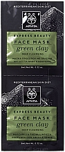 """Fragrances, Perfumes, Cosmetics Green Clay Face Mask """"Deep Cleansing"""" - Apivita Express Beauty Face Mask Green Clay"""