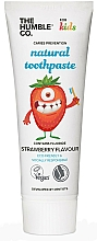 "Fragrances, Perfumes, Cosmetics Kids Natural Toothpaste ""Strawberry Taste"" - The Humble Co. Natural Toothpaste Kids Strawberry Flavor"