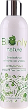Fragrances, Perfumes, Cosmetics Softening Hair Conditioner - BIOnly Nature Emollient Hair Conditioner
