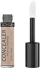 Fragrances, Perfumes, Cosmetics Concealer - Gosh Concealer High Coverage