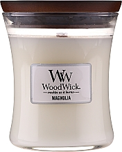 Fragrances, Perfumes, Cosmetics Scented Candle in Glass - WoodWick Hourglass Candle Magnolia