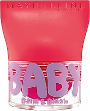 Fragrances, Perfumes, Cosmetics Lip & Cheek Balm - Maybelline Baby Lips Balm Blush Ball