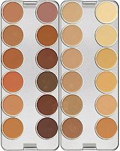 Fragrances, Perfumes, Cosmetics Corrector Palette, 24 Colors - Kryolan Dermacolor Camouflage Creme Palette