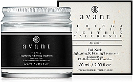 Fragrances, Perfumes, Cosmetics Neck Tightening and Firming Cream - Avant Skincare Full Neck Tightening and Firming Treatment