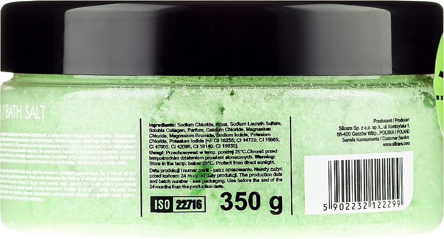 "Bath Salt ""Apple"" - Silcare Quin Bath Salt Apple — photo N2"