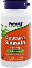 "Fragrances, Perfumes, Cosmetics Vitamins ""Cascara Sagrada, Krusina, 450 mg - Now Foods Cascara Sagrada"