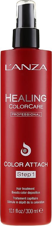 Color Protection Base Spray - Lanza Healing Color Care Color Attach Step 1